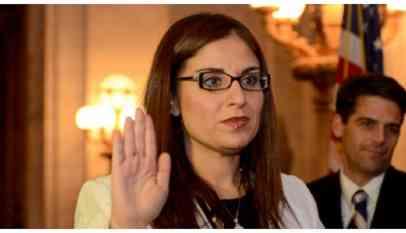 أول مرة مصرية تتولى منصب قاضية في تاريخ أمريكا