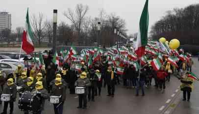تظاهرات ضد النظام الإيراني