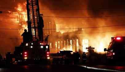 اندلاع حريق في مصنع بميانمار