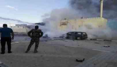 انفجار عبوة ناسفة في فوج عسكري