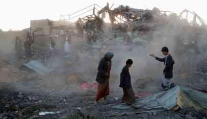 ضحايا غارات التحالف في اليمن