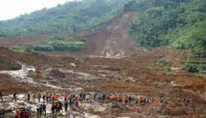 انهيار أرضي جديد في إندونيسيا