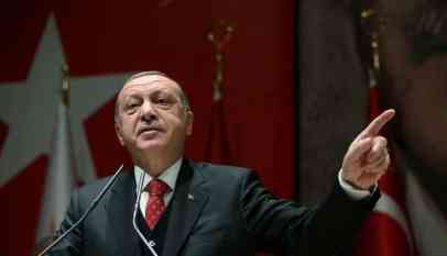 الرئيس التركي يتوعد مستفزيه