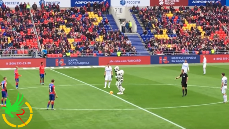مباراة في الدوري الروسي تنطلق بشكل مختلف