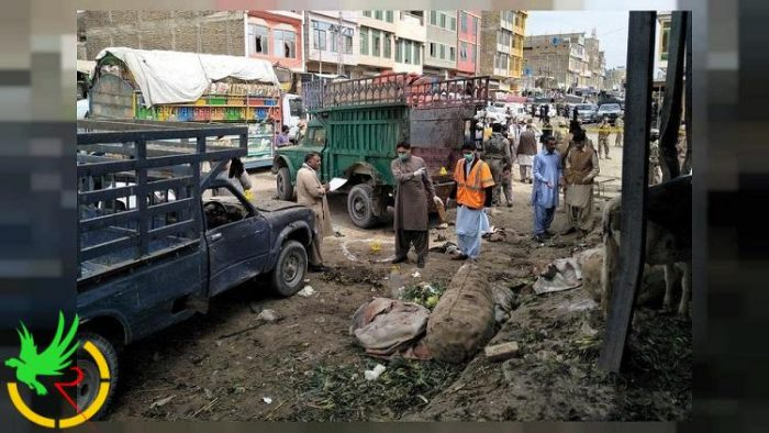 انفجار في سوق جنوب غربي باكستان