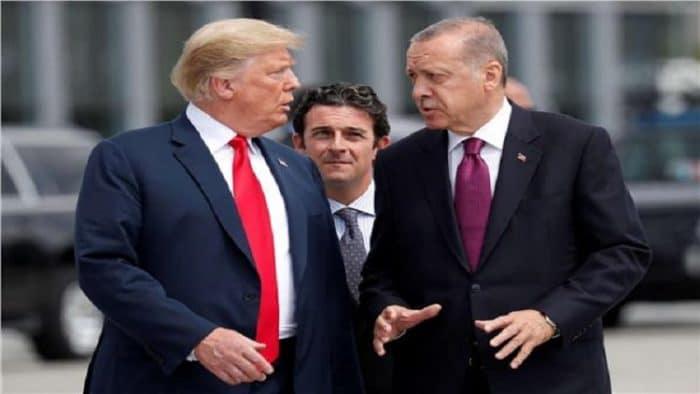 أردوغان وترامب يبحثان ليبيا