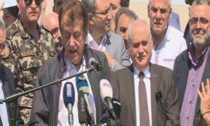 اصحاب المستشفيات الخاصة يعتصمون امام وزارة الصحة فى لبنان   الساعة 25