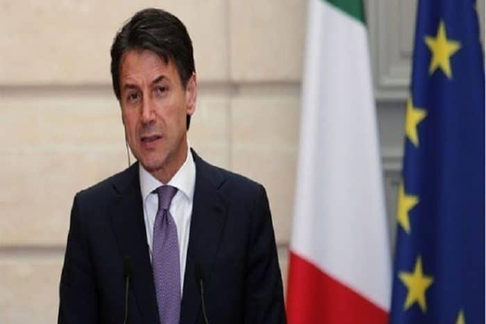 رئيس الوزراء الإيطالي يصل القاهرة