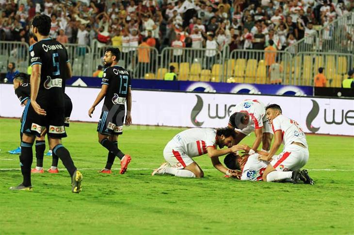 الزمالك يحصد كأس مصر ال87 من أنياب بيراميدز