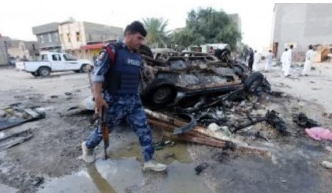 مقتل شرطي عراقي في تفجير بكركوك