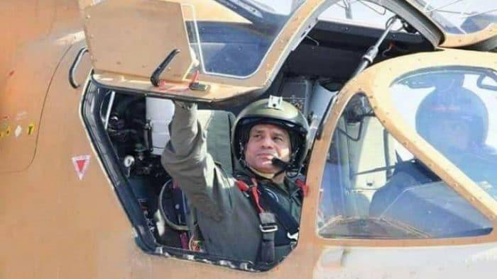 الرئيس المصري يشهد ختام مناورات الجيش