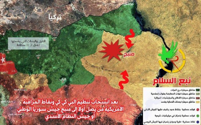 الجيش التركي يستعد لاقتحام منبج