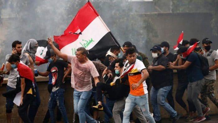 مصرع واصابة 71 شخصا اثر اشتباكات بغداد