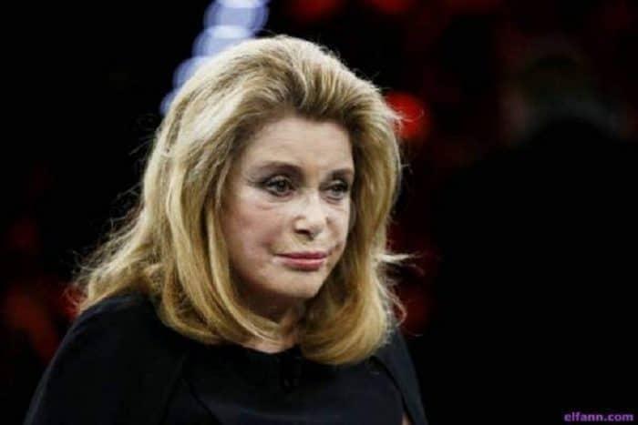 اصابة الممثلة الفرنسية كاترين دونوف بجلطة ادت نقلها الى المستشفى
