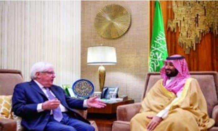 المبعوث الأممي لليمن يهنئ ولي العهد السعودي باتفاق الرياض