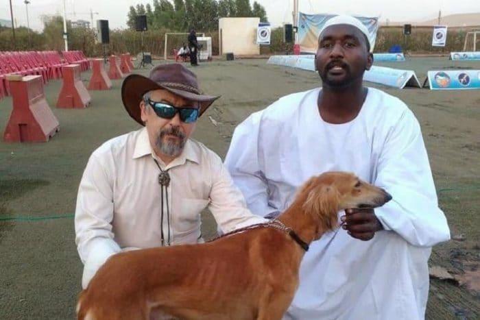 السودان تقيم مسابقة جمال للكلاب