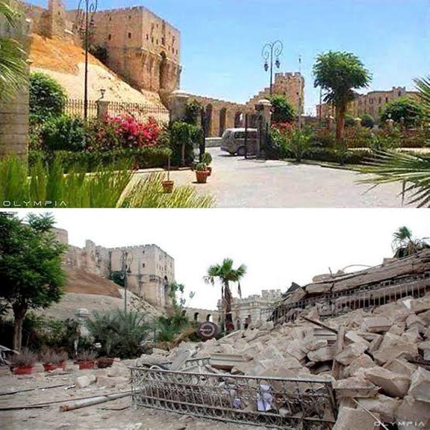 ايام يابلدى فيك عشناها .. الى سوريا الحبيبة