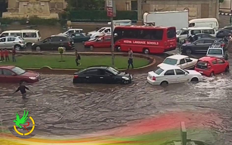طقس اليوم يغلق الطرق في مصر