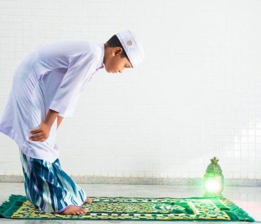 الصلاة فى المنام