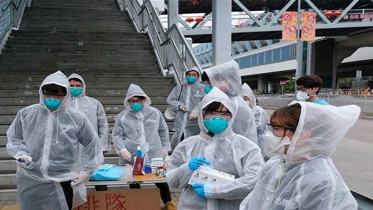 انخفاض عدد حالات الإصابة بفيروس كورونا في الصين