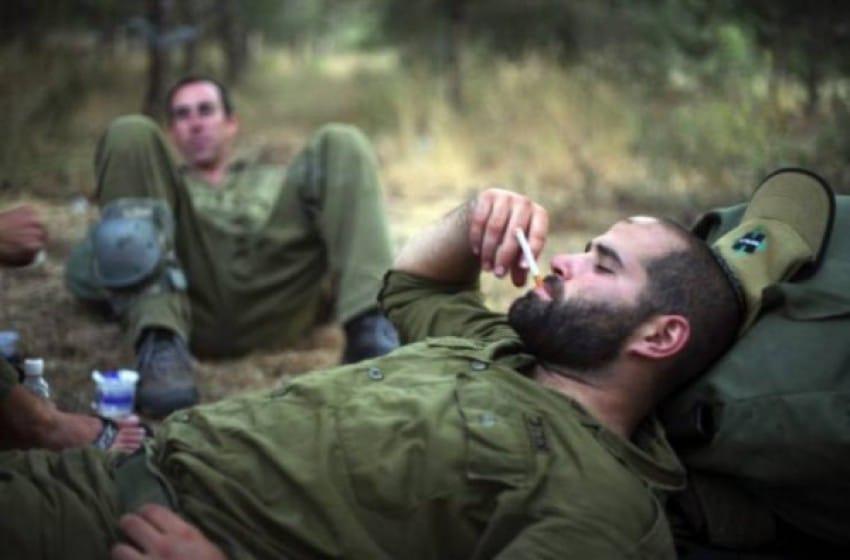 مخدرات داخل الجيش الاسرائيلي