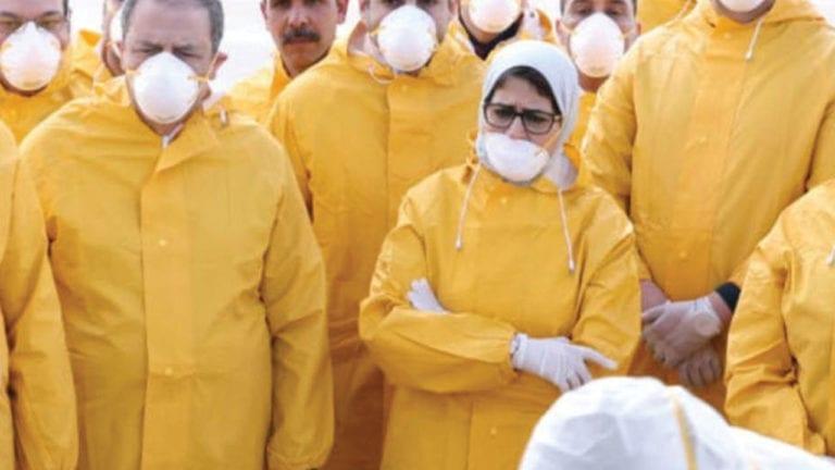 فيروس كورونا في مصر يواجه بارقة أمل