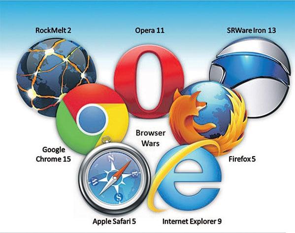 افضل متصفح للكمبيوتر   انواع المتصفحات   مستعرض الانترنت   فايرفوكس   الساعة 25