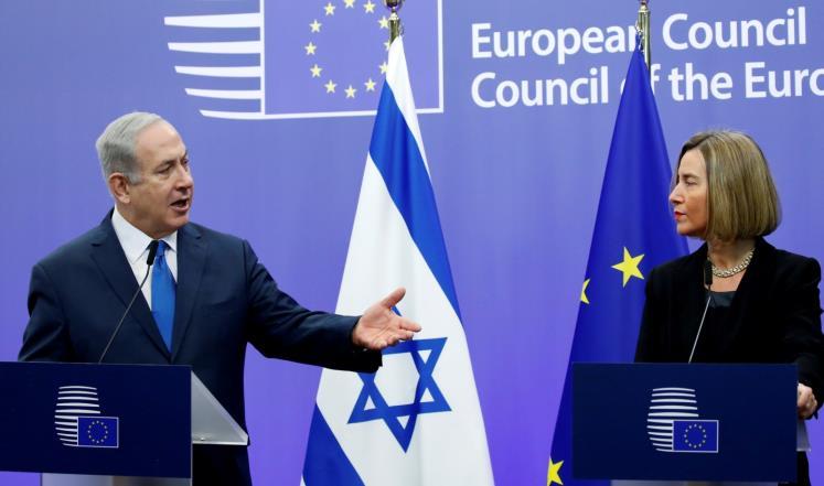 الاتحاد الأوروبي فى إطار السياسات الإجرامية للصهيونى نتنياهو