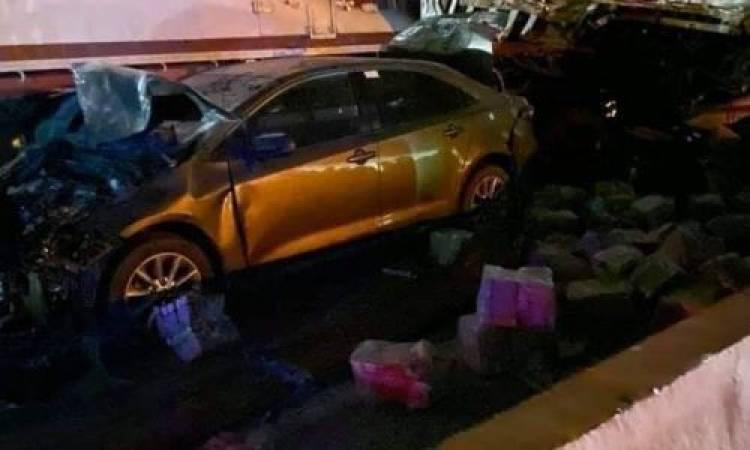 حادث مروع في محافظة الجيزة المصرية