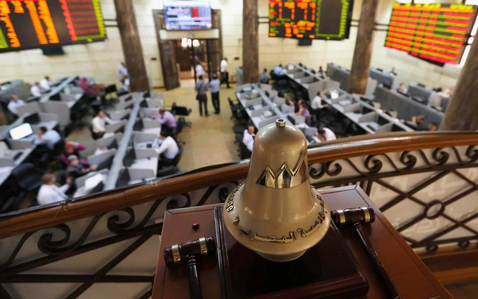 البورصة المصرية تلحق بنظيراتها في الخليج