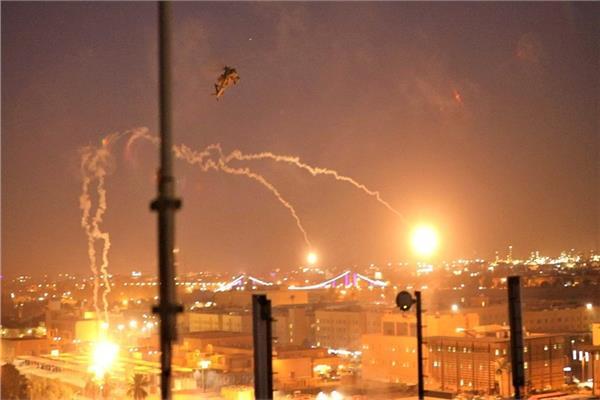 غارات جوية أمريكية على مواقع في العراق