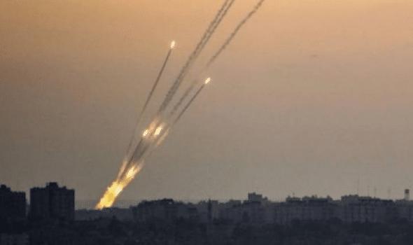 سقوط صواريخ على قاعدة عسكرية عراقية