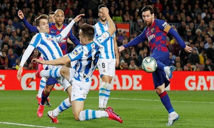 ترتيب الدوري الإسباني بعد فوز برشلونة على ريال سوسيداد.. صورة