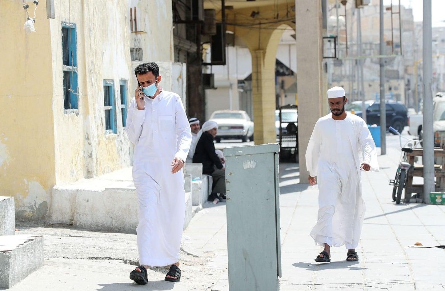 تعليق حضور الموظفين لمقرات العمل في السعودية
