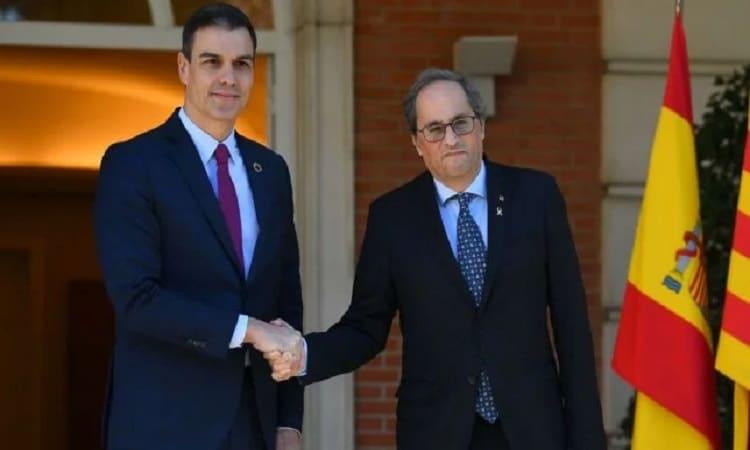 إصابة رئيس إقليم كتالونيا بفيروس كورونا
