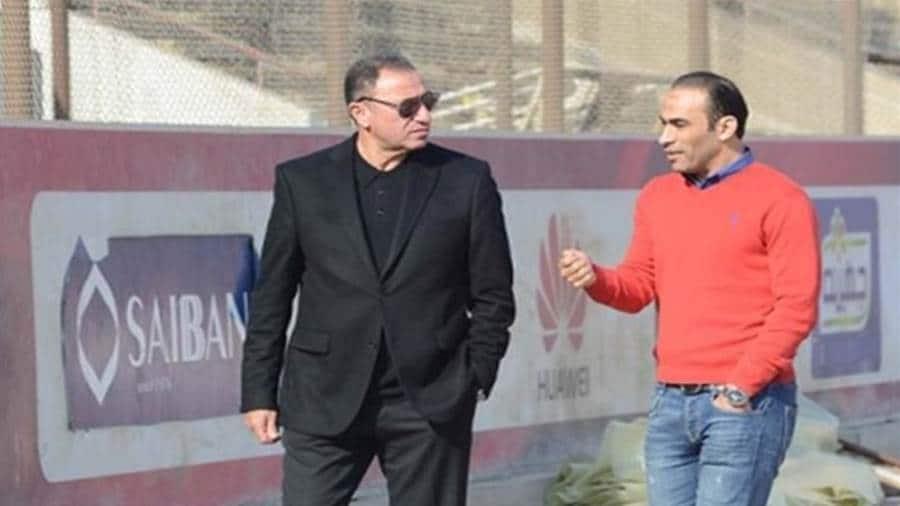 سيد عبدالحفيظ في مقر اتحاد الكرة المصري