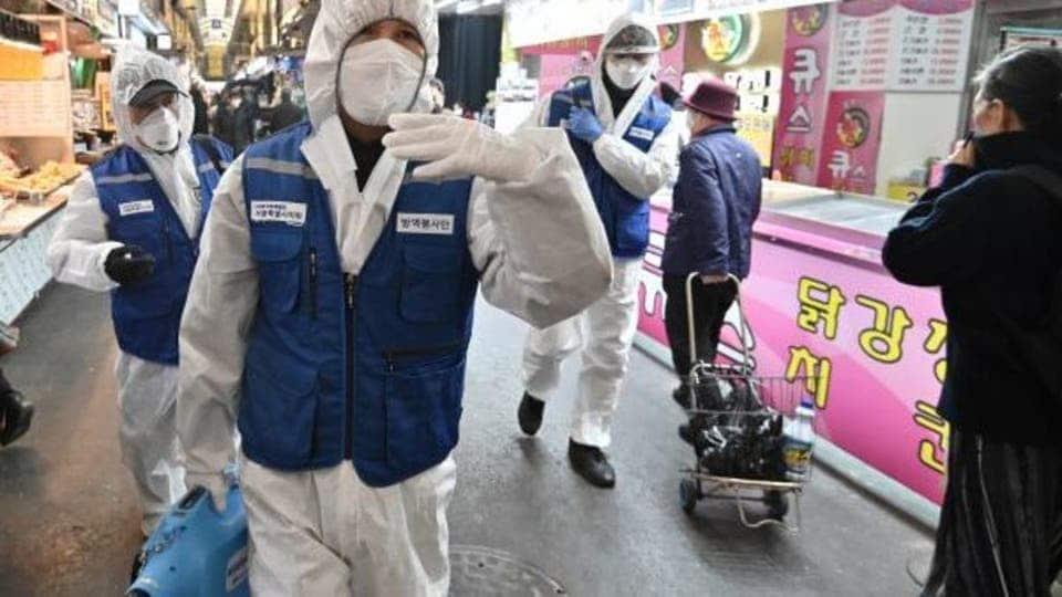 ارتفاع عدد المصابين بفيروس كورونا في كوريا الجنوبية