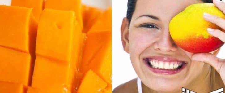 ماسك المانجو وفوائده للحد من بقع البشرة وإزالة الجلد الميت