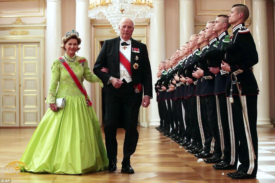 ملك النرويج وزوجته في الحجر الصحي