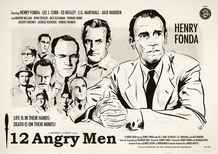 Twelve Angry Men أو سينما من لا شيء