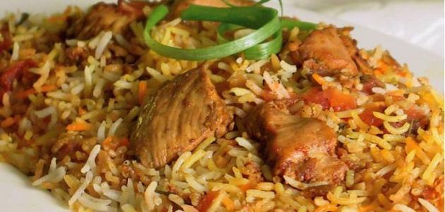 طريقة عمل أرز بسمتي مع الدجاج خطوة بخطوة