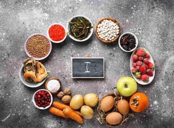 الأطعمة المحتوية علي اليود