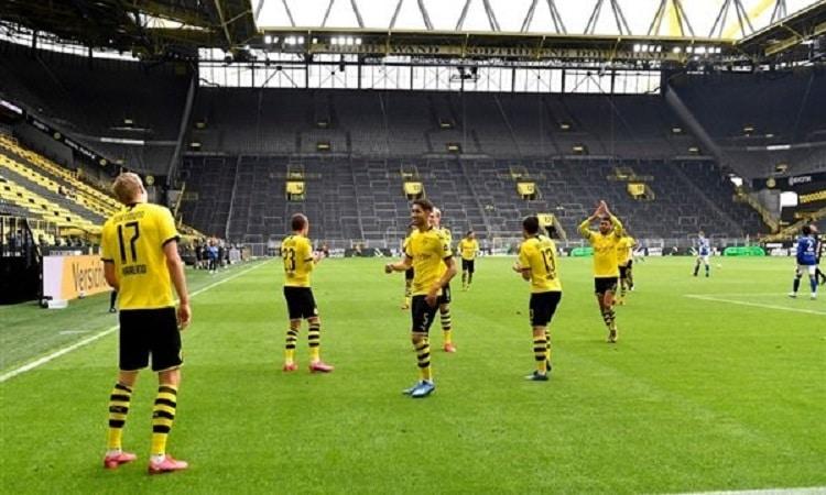 ترتيب الدوري الألماني بعد فوز دورتموند على شالكة