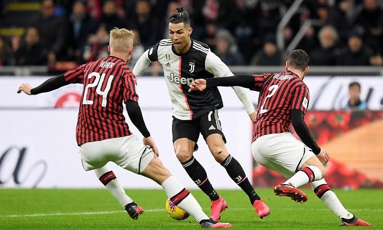 تشكيل يوفنتوس لمواجهة ميلان في نصف نهائي كأس إيطاليا