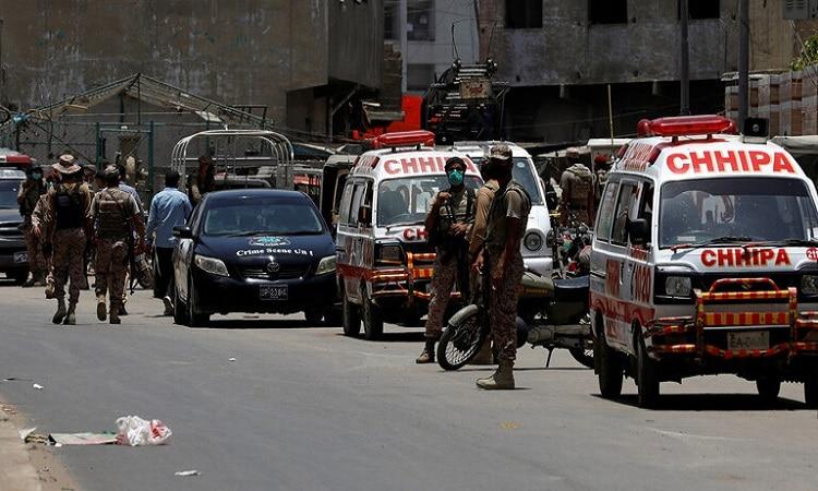 قتلى وجرحى في سلسلة انفجارات بباكستان
