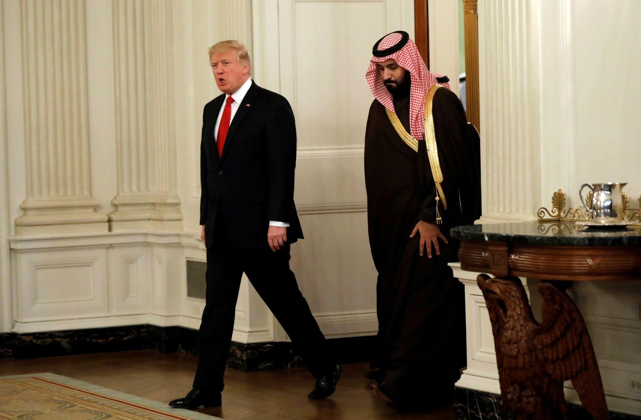 محمد بن سلمان آلة يحركها ترامب بالإهانات!