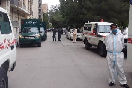 انفجار في مسجد في كابول أثناء صلاة الجمعة