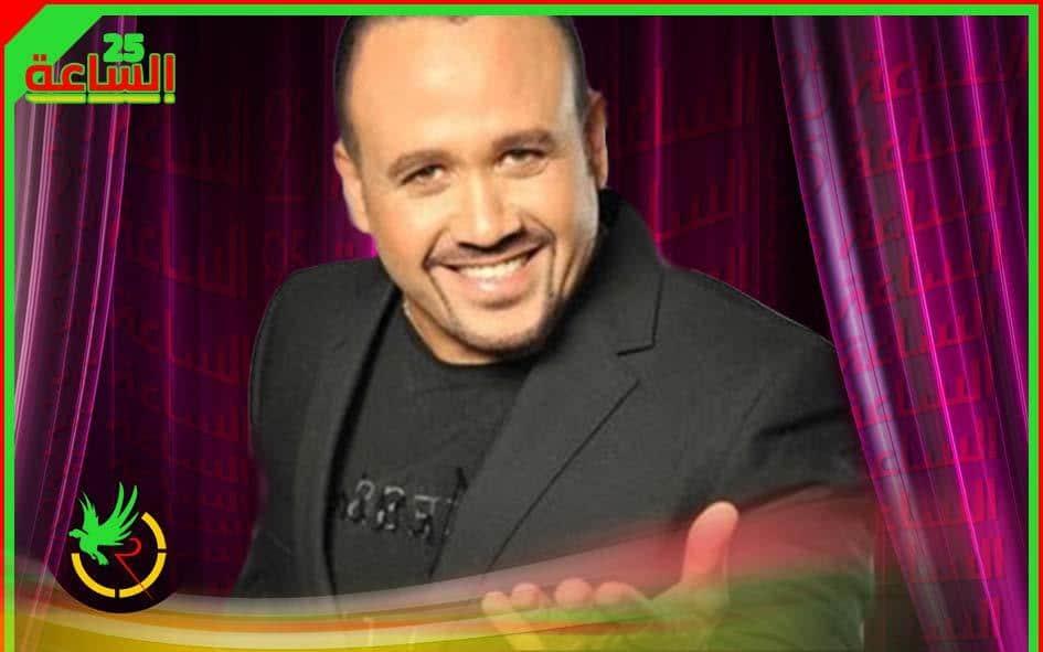 هشام عباس يفاجئ عمرو اديب بظهوره من البلكونة