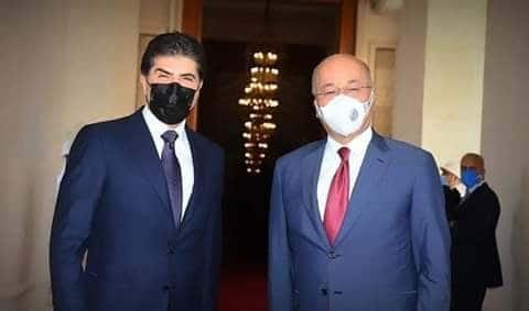 تفاصيل الزيارة السريعة لرئيس إقليم كردستان لبغداد
