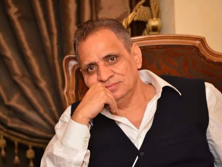 احمد السبكى يتذكر الراحل حسن حسنى بهذه الصورة